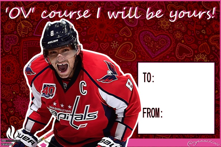 NHL Valentines Day Cards The Bloggers Tribune – Hockey Valentines Day Cards